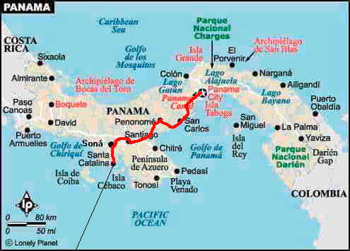 Driving Directions In Panama City Panama